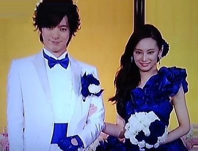 北川 景子 ウエディング ドレス